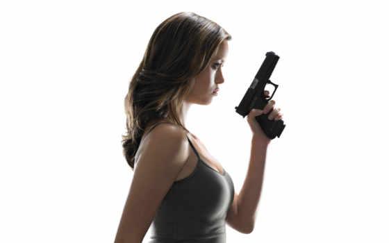 девушка, devushki, пистолетом, аву, оружием, фотографий, красивые,