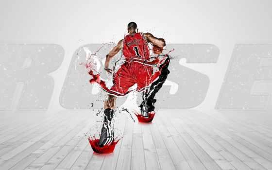 chicago, bulls, nba, баскетбол, роза, derrick,