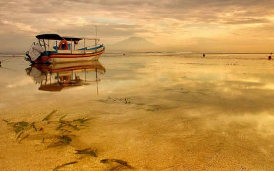 лодка, разрешениях, моря