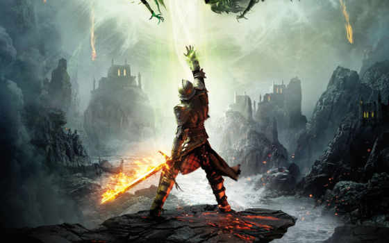 age, inquisition, дракон