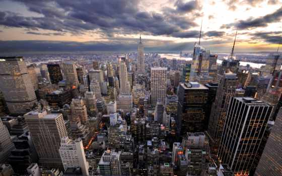 город, new, york Фон № 160712 разрешение 1920x1200