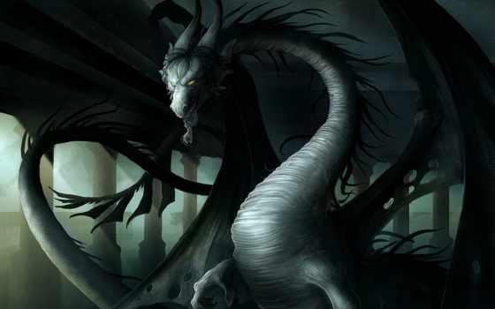 драконы, дракон, black, длинной, fantasy, everything, серебряная, волосы, длинные, season, диадема,