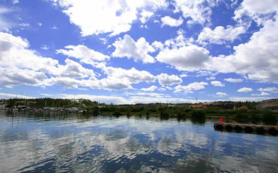 красивые, природа, тихая, video, красивая, небо, природы, castle, европе,