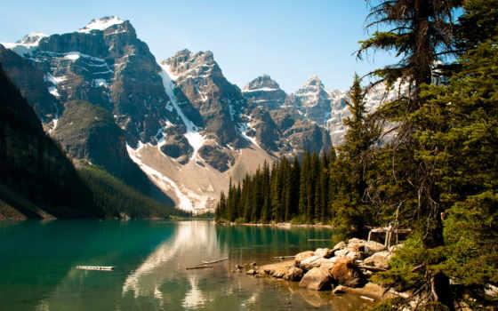 горы, озеро Фон № 6786 разрешение 1920x1080
