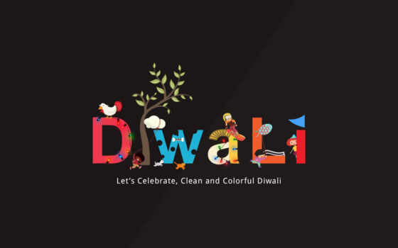 diwali, happy, clean
