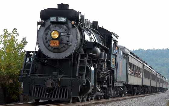 steam, locomotives, trains, локомотив, widescreen, поезд, national, канадский,