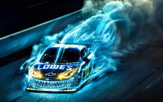 машина, chevrolet, car, скорость, race, cars, авто,