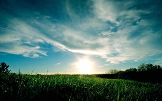 небо, sunset