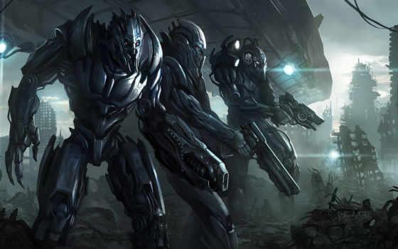 пришельцы, графика, invasion, высоком, ufo, качестве, инопланетяне,