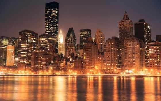 new, york, город Фон № 79235 разрешение 1920x1200