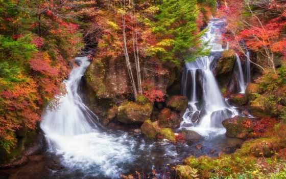 falls, водопад, ryuzu