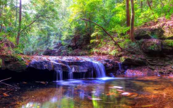 скинали, природа, водопад, водопады, trees, мебель, панорама, reservoir, лес, кухни, цветная,