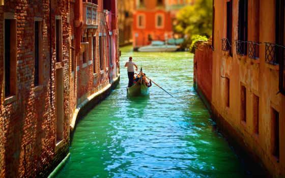 venecia, fondos, venice, pantalla, italia, venezia, canals, hermosa, alta,