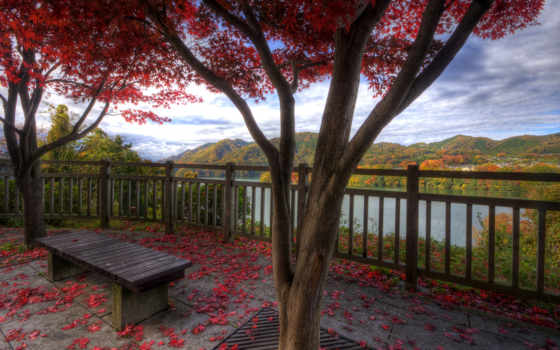осень, деревня, природа, красавица, горы, озера, архангельск, листва, избы, russian,
