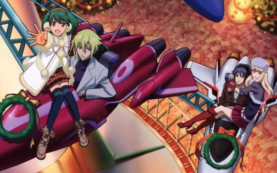 frontier, macross, anime
