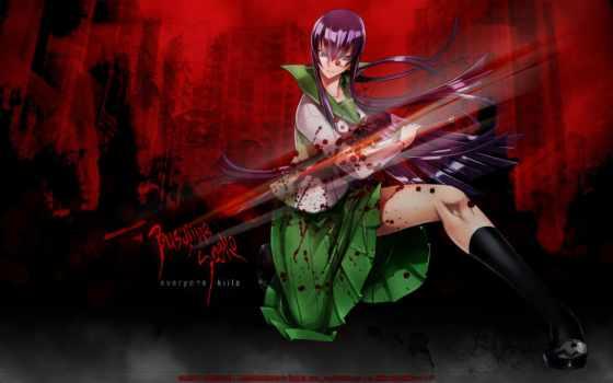 бусудзима, saeko, dead, highschool, school, кровь, мертвецов, busujima,