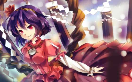 yasaka, kanako, free, touhou, anime, аватар, девушка, art,