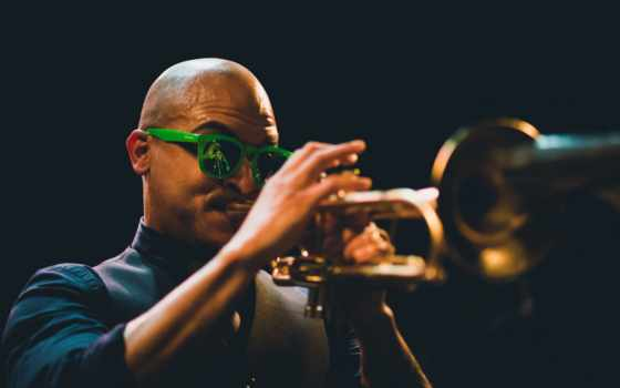 музы, инструмент, sunglasses, jazz, ноября, ночь, труба, саксофон, техника,