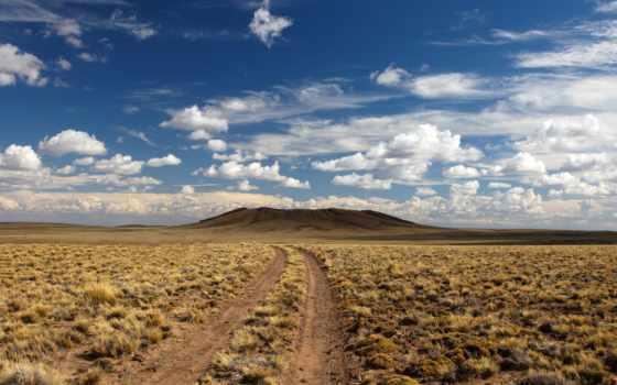 пустыня, дорога,