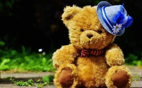 игрушки, медведь, toy, плюшевый,