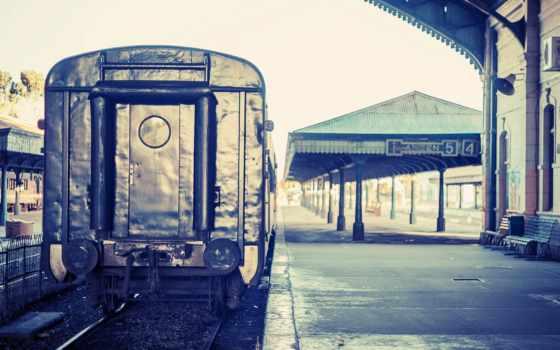 станция, поезд, iphone, пруд