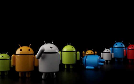 android, ос, живые