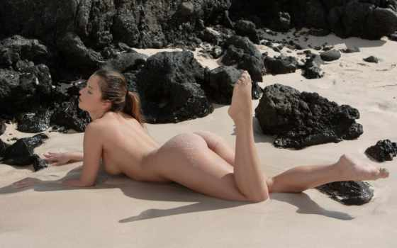 смотреть, ls, пляже