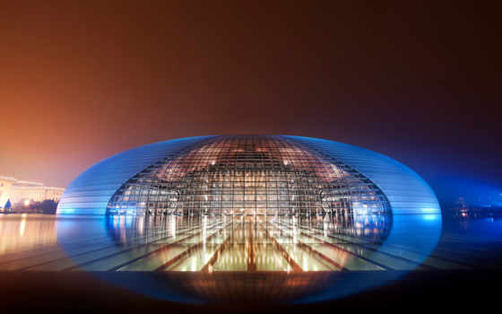 пекине, national, театр