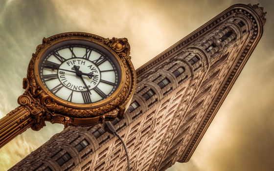 full, старину, под, часы, architecture, качества, oldtimewallpape,