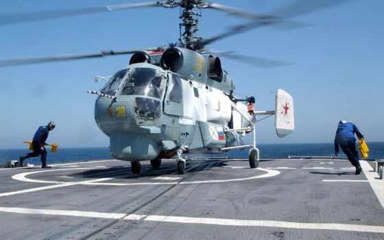авиация, вертолет, marine, spacecraft, флот, военный, россия