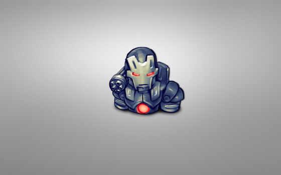 серый, iron