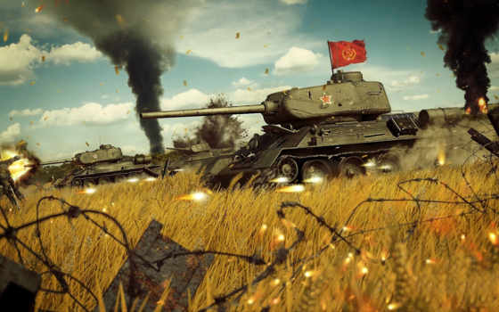 soviet, средний, танк