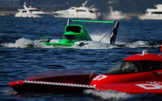 hydroplane, racing, лодка, реактивный,
