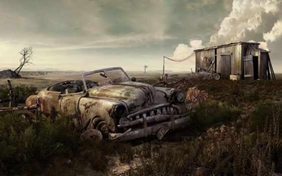 автомобилей, кладбище, ретро, кладбища, автомобили, которые, авто, yahooeu, уже, целые, автомобильные,