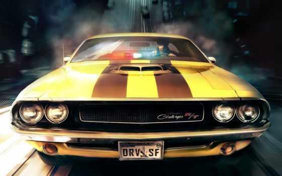 muscle, car, dodge, машины, sony, alucard, машина, cars,