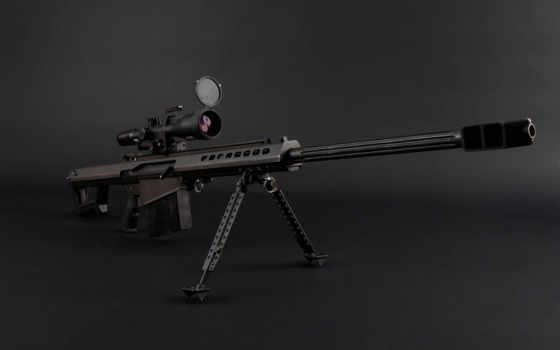 barrett, снайпер, винтовка