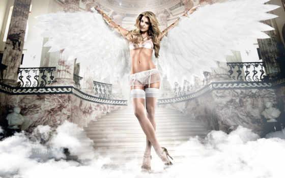 секс, ангел, белья