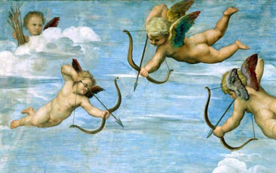 angels, рисованные, дома