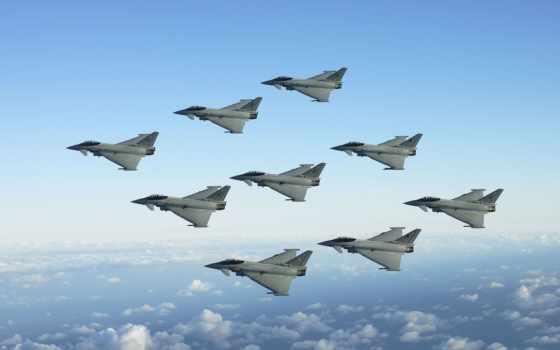 реактивный, fighters, formation