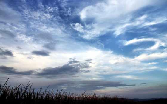 небо, совершенно, красивое, wpapers, oblaka,