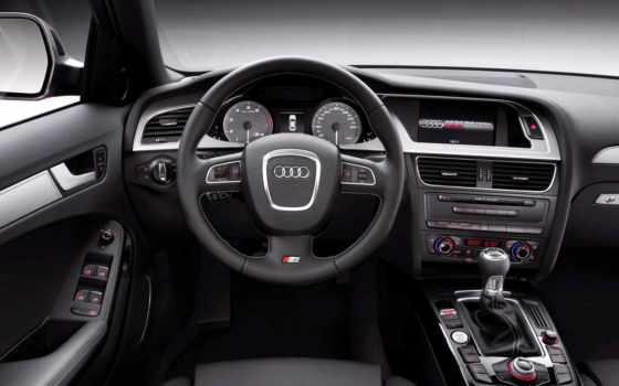 audi, avant, автомобили, чёрное, доска, руль, техника, приборная, автомобиля, интерьер, wallpapers, interior, car,