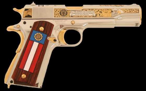 оружие, коллекция, пистолет, легиона, американского,