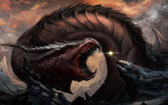 дракон, арт