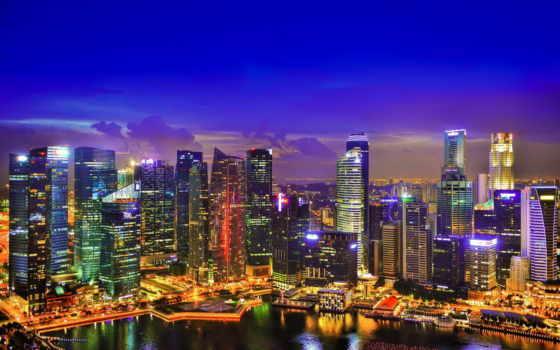 singapore, июня, городов