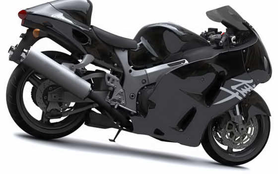 мотоциклы, suzuki, hayabusa, best, bikes, black, world,