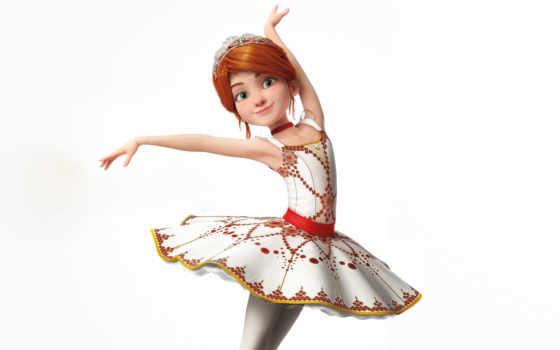 балерина, movie, trailer, official, elle, плакат, fanning,