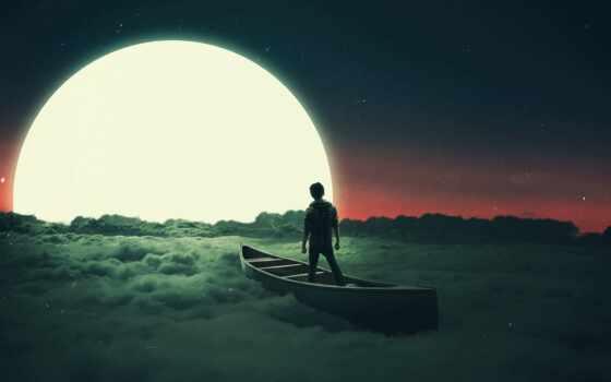 облако, качественные, луна, surealizm, pda, pocket, fentezti, submit, free