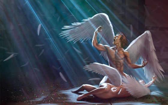 ангелы, фэнтези