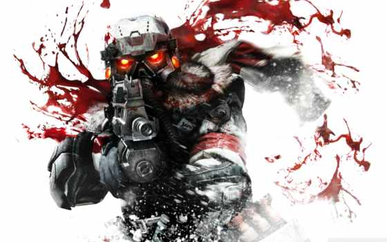 игры, маска, killzone