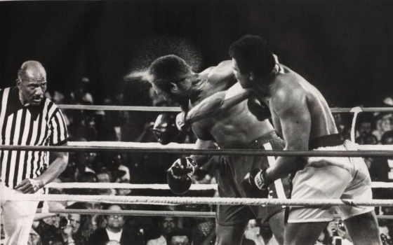 бокс, удар